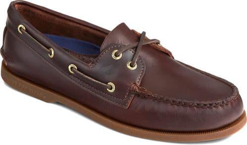Sperry Authentic Original Leather Lace Mens Shoes Amaretto